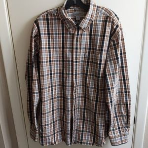 Carhartt Relaxed Fit Button up plaid